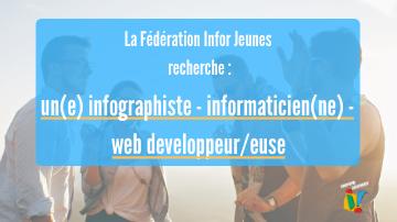 Offre d'emploi : Infographiste – Web developpeur/euse – Informaticien(ne)