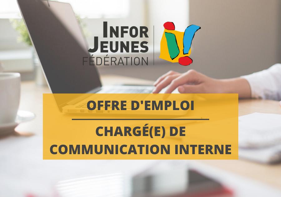 La Fédération Infor Jeunes recherche un(e) CHARGÉ(E) DE COMMUNICATION INTERNE