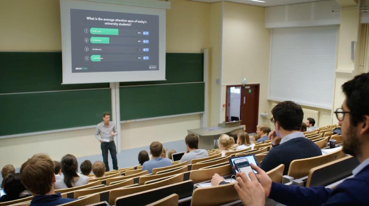 Des cours plus dynamiques grâce à Wooclap : tes profs connaissent ?