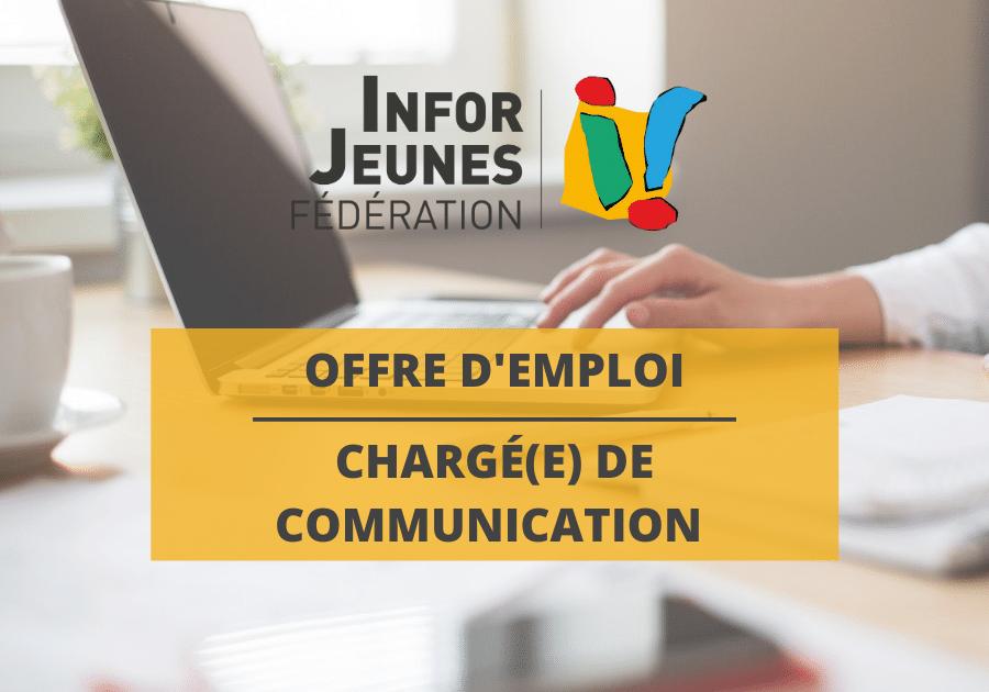 Offre d'emploi : chargé(e) de communication